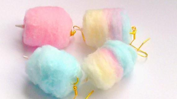 Brand Spotlight SprinkleCake Cotton Candy Earrings