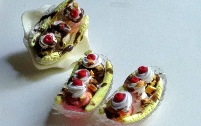 Brand Spotlight SprinkleCake Banana Split Earrings