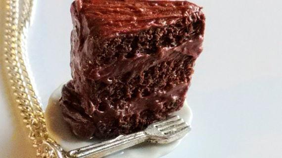 Brand Spotlight SprinkleCake Chocolate Cake Necklace