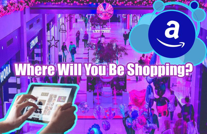 Online vs In Store Shopping Banner | Aasha Blog